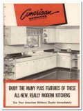 Avco Mfg Corp 1948 Vintage Catalog American Kitchens Steel Cabinets