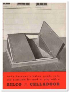 Bilco Company 1948 Vintage Catalog Door Celladoor All Metal Basement