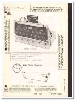 magnavox chassis 57-1x-x0 57-2x-x0 am-fm tuner sams photofact manual