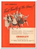 Avco Mfg Corp 1951 Vintage Catalog Appliances Crosley Kitchen Home