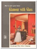 Pittsburgh Plate Glass Company 1951 Vintage Catalog Mirror Glamour