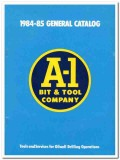 A-1 Bit Tool Company 1983 Vintage Catalog Oilwell Drilling Equipment