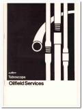 AMF Tuboscope Inc 1983 Vintage Catalog Oil Pipe Oilfield Services