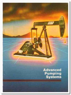 Advanced Pumping Systems Inc 1983 Vintage Catalog Oil Crank-Balanced