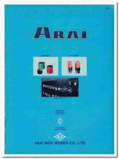 Arai Iron Works Company 1983 Vintage Catalog Oil Tool Joints Couplings