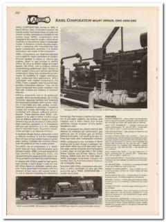 Ariel Corp 1983 Petroleum Oil Gas Oilfield Compressor Vintage Catalog