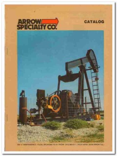 Arrow Specialty Company 1983 Vintage Catalog Single Twin Cyl Engine