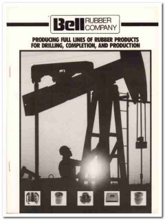 Bell Rubber Company 1983 Vintage Catalog Oilfield Drilling Production