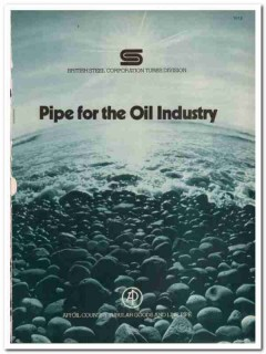 British Steel Corp 1983 Vintage Catalog Oil Well Tubing Casing Pipe