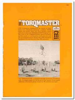 CMI Corp 1983 Vintage Catalog Oil Pumping Unit Torqmaster Petroleum