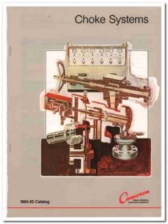 Cameron Iron Works Inc 1983 Vintage Catalog Oil Choke Systems Gas