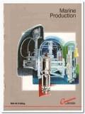 Cameron Iron Works Inc 1983 Vintage Catalog Oil Gas Marine Production