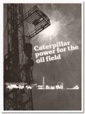 Caterpillar Tractor Company 1983 Vintage Catalog Oilfield Engine Power