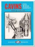 Dawson Enterprises 1983 Vintage Catalog Oil Well Tools Cavins Oilfield