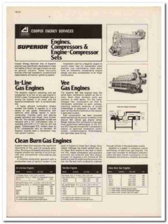 Cooper Industries 1983 Vintage Catalog Oil Energy Services Engines Gas