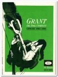 Grant Oil Tool Company 1983 Vintage Catalog Drilling Equipment Masco
