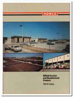 Homco International Inc 1983 Vintage Catalog Oilfield Services Product