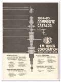 J M Huber Corp 1983 Vintage Catalog Oil Oilfield Drilling Equipment