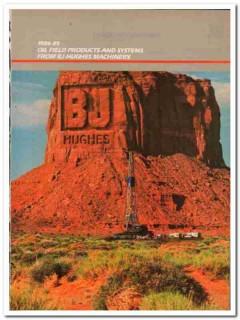 Hughes Tool Company 1983 Vintage Catalog Oil BJ-Hughes Machinery Drill