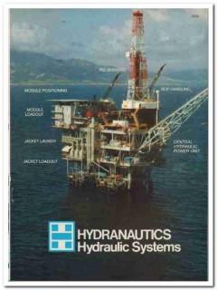 Hydranautics Hydraulic Systems Inc 1983 Vintage Catalog Load Moving