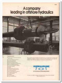 Hydraudyne Systems Engineering bv 1983 Vintage Catalog Oil Hydraulics