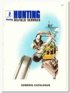 Hunting Oilfield Services Ltd 1983 Vintage Catalog Petroleum Drilling