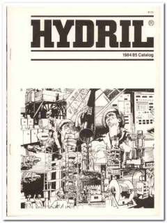 Hydril Company 1983 Vintage Catalog Oil Tubular Products Drilling