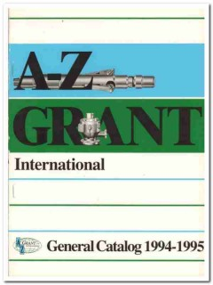 A-Z Grant International Company 1993 Vintage Catalog Drilling Tools
