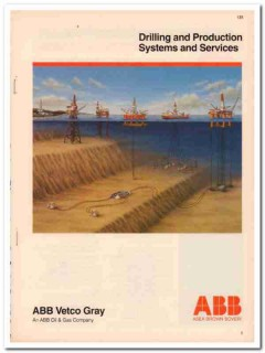 ABB Vetco Gray Inc 1993 Vintage Catalog Oil Drilling Asea Brown Boveri