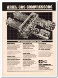 Ariel Corp 1993 Vintage Catalog Oil Field Separable Gas Compressors