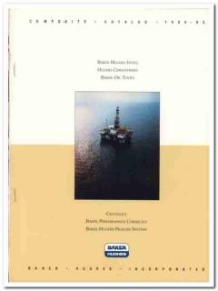 Baker Hughes Inc 1993 Vintage Catalog Oil Tools Inteq Christensen