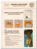 Barthels Luder GmbH 1993 Vintage Catalog Oil Tools Blohm Voss Handling