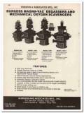 Burgess Associates Mfg Inc 1993 Vintage Catalog Oil Degasser Scavenger