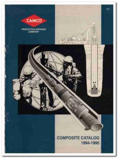 Camco Products Services Company 1993 Vintage Catalog Well Equipment