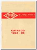 Dawson Enterprises 1993 Vintage Catalog Oil Well Tools Oilfield Cavins