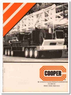 Allied Products Corp 1993 Vintage Catalog Oil Drilling Rig Cooper