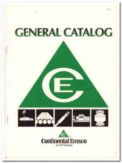 Continental Emsco Company 1993 Vintage Catalog Oil States Ind Tubular