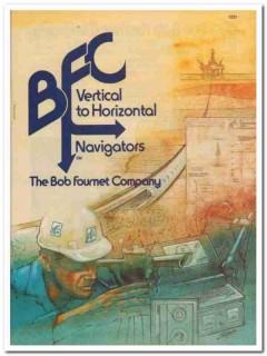Bob Fournet Company 1993 Vintage Catalog Vertical Horizontal Navigator