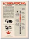 Hydro-Test Inc 1993 Vintage Catalog Oil Field Tube Testing Equipment