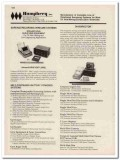 Humphrey Inc 1993 Vintage Catalog Oil Directional Surveying Systems