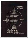 J M Huber Corp 1993 Vintage Catalog Oil Field Flow Control Petroleum