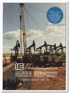 Industiralexport SA 1993 Vintage Catalog Oilfield Equipment Petroleum
