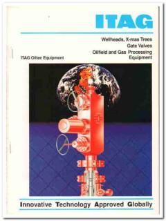 ITAG Products Inc 1993 Vintage Catalog Oil Wellhead X-Mas Tree Valves