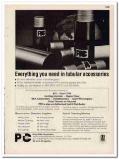 Petro-Tube Corp 1993 Vintage Catalog Oil Petroleum Tubular Accessories