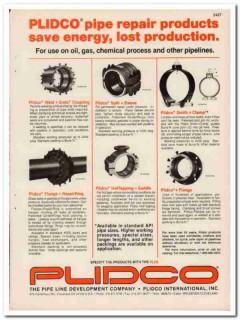 Pipe Line Development Company 1993 Vintage Catalog Oil Plidco Repair