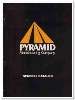 Pyramid Mfg Company 1993 Vintage Catalog Oil Field Derricks Masts Rig