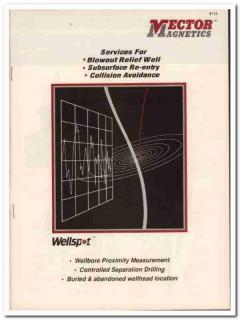 Vector Magnetics Inc 1993 Vintage Catalog Oil Field Drilling Wellspot