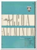 Aluminum Company of America 1945 vintage metal catalog Alcoa Alloys