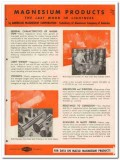Aluminum Magnesium Corp 1945 vintage metal catalog Mazlo lightness
