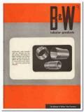 Babcock Wilcox Tube Company 1945 vintage metal catalog welded seamless